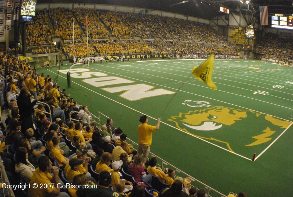 Image result for north dakota stadium
