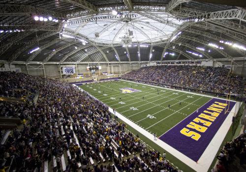 Northern Iowa Panthers Uni Dome Football Championship